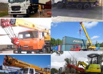 Услуги автокрана, автокранов, бабкета, воровайки, 25 тонн, 16 тонн, 5 тонн