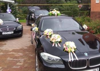 Украшение свадебных машин