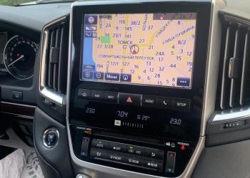 Обновление штатной навигации Toyota, Lexus до версии 2020-2021 ver.1 в Томске