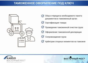 ООО KARGO ВОСТОЧНЫЙ МОСТ логистика и консалтинг