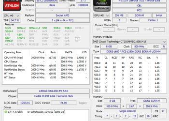 Системный Блок CPU 3.4Ghz/RAM 8Gb/HDD 1Tb/1000W