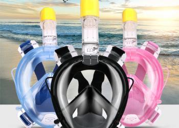 Маска для плавания, ныряния, снорклинга