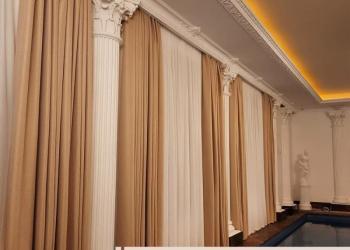Пошив штор на заказ под ключ в Москве и МО