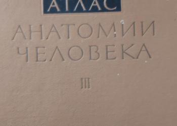 Атлас анатомии человека в 3 томах. Синельников