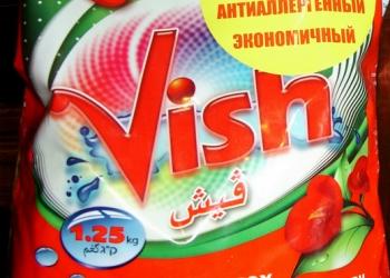 Стиральный порошок Vish (Israel) без фосфатов концентрат