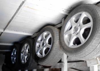 Продам шины с литыми дисками