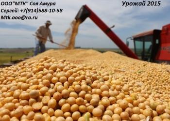 Соя урожай 2014г   2000тонн напрямую от производителя!