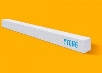 Армированные газобетонные перемычки ytong размер 1500*115*124