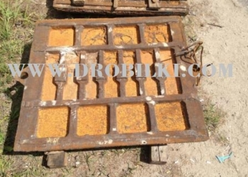плиты дробящие к щековой дробилке СМД-110А