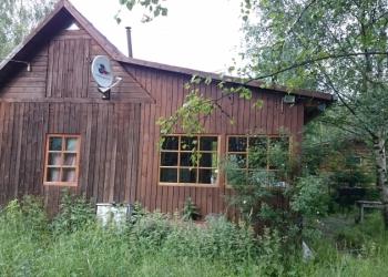 Продам участок с домиком, баней, гаражом, лодкой.