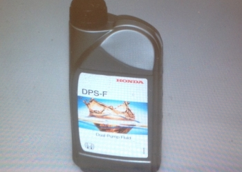 Масло Honda.
