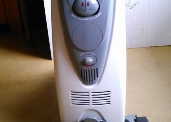 Новый масляный радиатор De Longhi