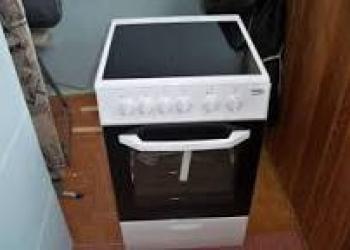 Продам новую электрическую плиту ВЕКО СSS48100GW