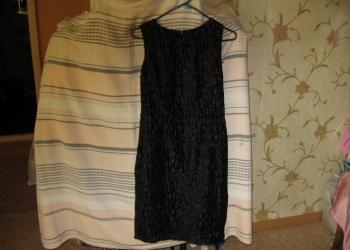 Платье из итальянской ткани сшито на заказ