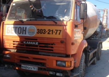 Автобетоносмесители Камаз 6520, 10 м3