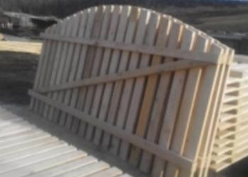 Штакетник  50х20, заборная доска 20х100, брус и столбы. Доставка.