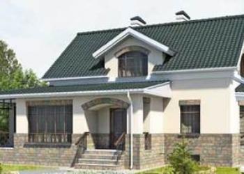 Кирпичный дом 9 х 9,5