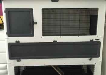 Двухэтажная клетка для кроликов ferplast