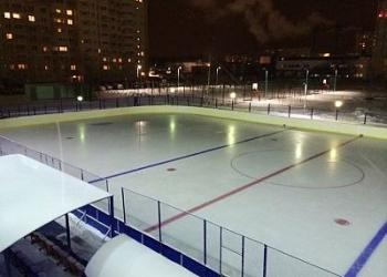Хоккейная коробка быстро, дешево и качествено