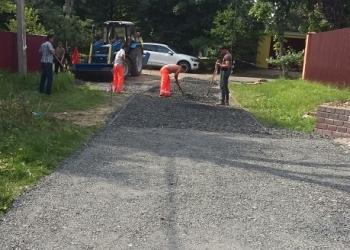 Асфальтирование и ремонт дорог асфальтной крошкой