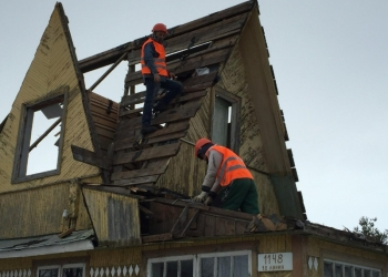 демонтаж старых зданий