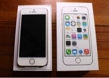 Смартфон APPLE IPHONE 5S SILVER 16 Гб (оригинал)