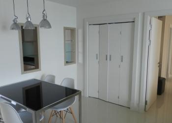 Люкс апартаменты с 2 спальнями + гостиная. 21 этаж. Вид на море. Паттайя