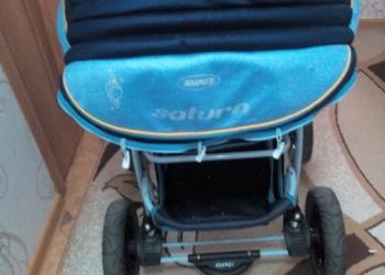 Сломанная коляска но на ходу