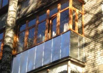 Балконы и лоджии   Отделка и остекление балконов