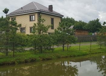 Продается двух этажный дом в г. Москва, п. Роговское, д. Клёновка.