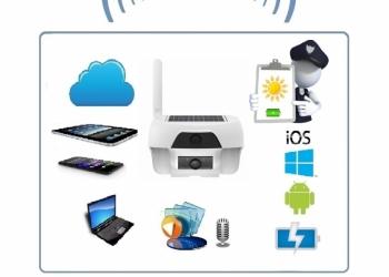 FreeCam, Всепогодная автономная беспроводная (WiFI) IP видеокамера