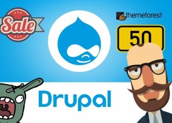 50 шаблонов Drupal с сайта Themefores за 500 рублей