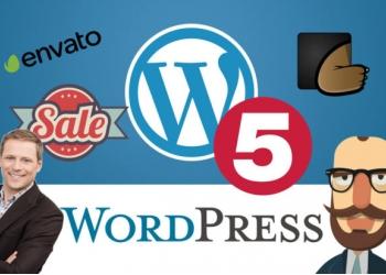 Шаблоны WordPress с сайта Themeforest 100 шаблонов за 500 рублей