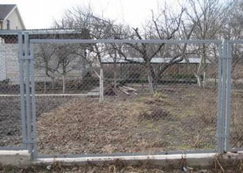 Секции заборные с сеткой