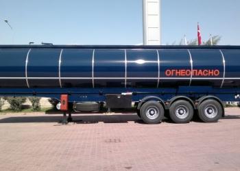 Полуприцеп-цистерна для транспортировки темных нефтепродуктов NURSAN 42 м3