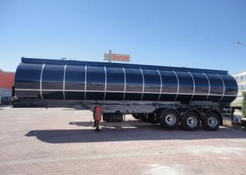 Полуприцеп-цистерна для транспортировки темных нефтепродуктов NURSAN 40 м3
