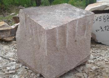 Блоки и изделия из гранита Бордюр ГП-1, ГП-4, Блок, Брусчатка