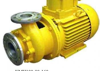 насос  для светлых нефтепродуктов  кмн 100-80-160