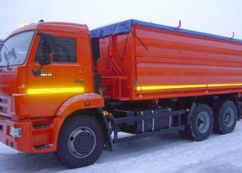 Самосвал зерновоз 19 куб, 15 т (шасси КАМАЗ 65115)