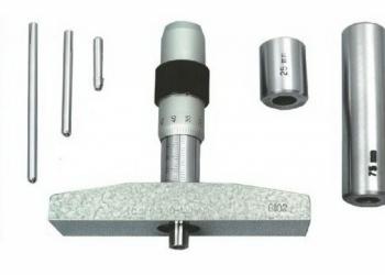 Глубиномер микрометрический ГМ-100 ГОСТ 7470-78