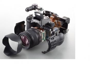 Эксперты по ремонту фотоаппаратов и объективов Sony в г. Москва (м. Новогиреево)