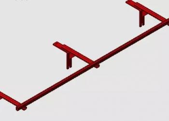Подкормочное приспособление культиватора КРНВ 5.6-04 на 9 секций