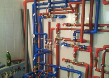 Прокладка водопровода,канализации,подключение