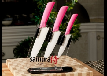 Набор керамических ножей Samura Eco-Ceramic