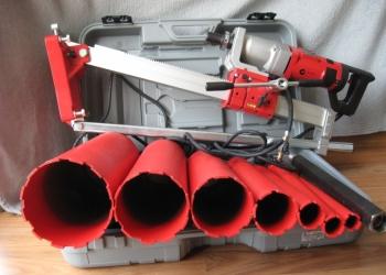 Сверление бетонных стен и перекрытий