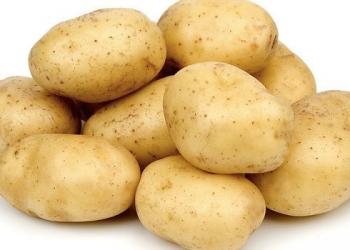 домашняя крупная картошка
