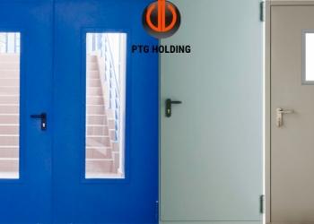 Технические двери металлические, производство