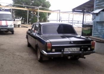 ГАЗ-24, 1975г.в, черный, в хорошем состоянии