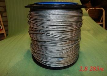 Троса (канаты) стальные, оцинкованные,ГОСТ 3062-80