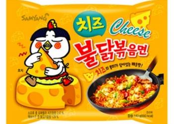 Корейская лапша быстрого приготовления SAMYANG Hot Chicken cheese